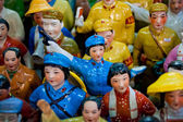 Figures of Chinese people — Stock Photo