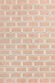 Nova parede de tijolo — Fotografia Stock
