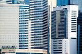 Espejo de rascacielos fachadas — Foto de Stock