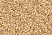 Grainy yellow sand texture — Stockfoto