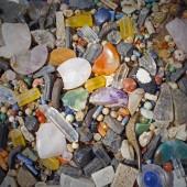 Color pebble close up — Stock Photo