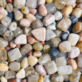 Color pebble close up — Stock Photo