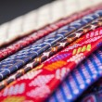 Set of multicolored neckties — Stock Photo #70255505