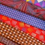Set of multicolored neckties — Stock Photo #70253287