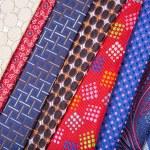 Set of multicolored neckties — Stock Photo #70253415