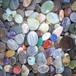 Multicolored stones pebbles — Stock Photo #70253887