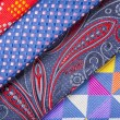 Set of multicolored neckties — Stock Photo #70254223