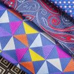 Set of multicolored neckties — Stock Photo #70255163