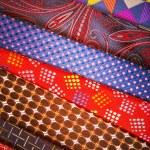 Set of multicolored neckties — Stock Photo #70256277