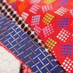 Set of multicolored neckties — Stock Photo #70256377