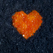 Heart of red caviar — Stock Photo #70259723