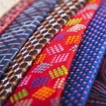 Set of multicolored neckties — Stock Photo #70259803