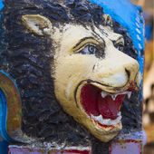 Sculpture of Hindu go(Lion). — Stock Photo