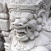 Balinese religious sculptures — Stock Photo