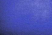 Texture of the leather dark blue — Stock Photo