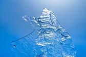 Abstracte ijs textuur — Stockfoto