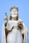 Escultura del hombre cristiano — Foto de Stock