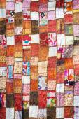 Multicolored indian cloth — Stock Photo