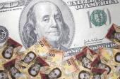 Inflation Venezuelan bolivar — Stock Photo