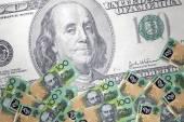 Inflation Australian dollar — Stock Photo