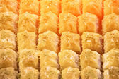 Turkish sweets and delights — Stock Photo