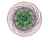Abstract spiral background — Stock Photo