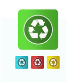 Illustration  recycle icon — Stock Photo