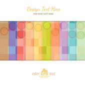 Half color strip background — Stock Vector