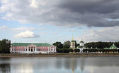 Homestead and park Kuskovo in Moscow — Stock Photo
