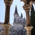 Courtyard of the monastery of Santa Maria da Vitoria in Batalha — Stock Photo #62248959