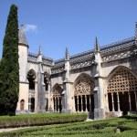 Courtyard of the monastery of Santa Maria da Vitoria in Batalha — Stock Photo #62249039
