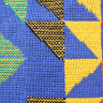 Fragment homespun carpet — Stock Photo #62249201