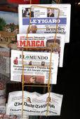 Commercio al dettaglio di quotidiani — Foto Stock