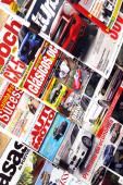 Magazine stand — Photo