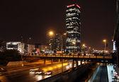 Evening traffic — Stock Photo