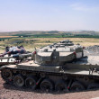 Постер, плакат: Tank Memorial Valley of Tears after the Yom Kippur War of 197