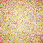 Vector seamless kaleidoscope pattern — Stock Vector