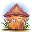 Illustration of cartoon home — Stock Photo #58282655