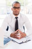 Vertrouwen zakenman. — Stockfoto