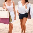 Women with shopping bags — Stock Photo #52444659