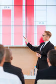 Presentation in conference hall. — Stock Photo