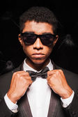 Fashionable young Afro-American man — Stock Photo