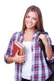 Confident student. — Stock Photo