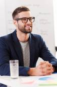 Confident business expert. — Stock Photo