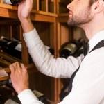 Sommelier choosing wine — Stock Photo #64997911