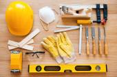 Diverse working tools — Foto Stock