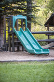 Playground de montanha — Fotografia Stock