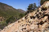 Rocks on mountains — Stok fotoğraf