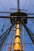 Sail boat mast — Stock Photo