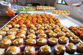 Catering food specialities — Stock Photo